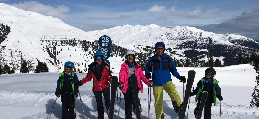 סקי כמשל לאכילה